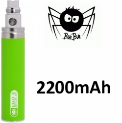 BuiBui GS eGo II baterie 2200mAh Green