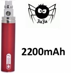 BuiBui GS eGo II baterie 2200mAh Red
