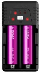 eFest BIO V2 dual USB nabíječka pro monočlánky