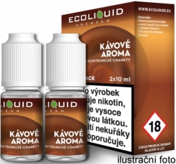 Liquid Ecoliquid Premium 2Pack Coffee 2x10ml - 6mg (Káva)