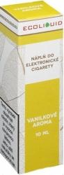 Liquid Ecoliquid Vanilla 10ml - 3mg (Vanilka)
