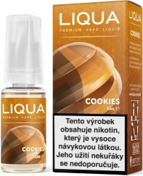 Liquid LIQUA CZ Elements Cookies 10ml-6mg (Sušenka)