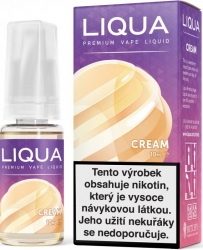 Liquid LIQUA CZ Elements Cream 10ml-12mg (Smetana)