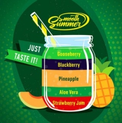 Příchuť Big Mouth Smooth Summer - Mix Fruit 8