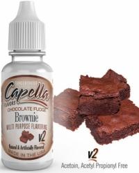 Příchuť Capella 13ml Chocolate Fudge (Čokoládové brownies)