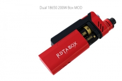 IJOY RDTA Box TC 200W Red