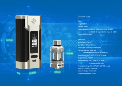 Wismec Predator 228 grip Easy Kit Gold