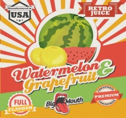 Příchuť Big Mouth RETRO - Watermelon and grapefruit