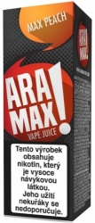 Liquid ARAMAX Max Peach 10ml-6mg