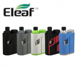 Eleaf Ikonn Total 50w 5,5ml White/Green + 1 x LG HG2