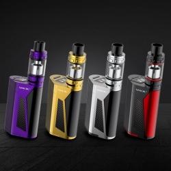 Smoktech GX350 TC350W Grip Full Kit Purple + 4 x LG HG2