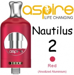 aSpire Nautilus 2 Clearomizer 2ml Red