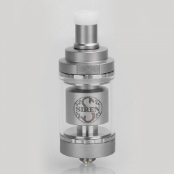 4.5ml Digiflavor Siren 2 24mm GTA MTL Silver