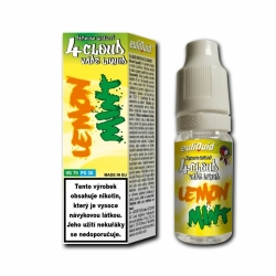 4CLOUD Lemon Mint 70VG/30PG 10ml/0mg 10 ks v balení.