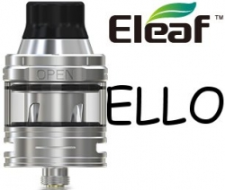 iSmoka-Eleaf ELLO 2ml clearomizer Silver