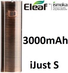 iSmoka-Eleaf iJust S baterie 3000mAh Brushed Bronze