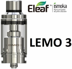 iSmoka-Eleaf Lemo 3 clearomizer Full Kit Silver