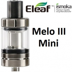 iSmoka-Eleaf Melo 3 Mini clearomizer Brushed Black Silver