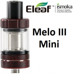 iSmoka-Eleaf Melo 3 Mini clearomizer Red Crackle