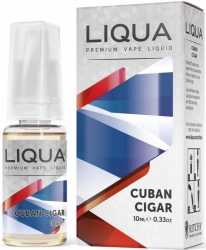 Liquid LIQUA Elements Cuban Tobacco 10ml-3mg (Kubánský doutník)