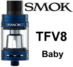Smoktech TFV8 Baby clearomizer Blue