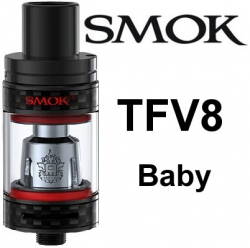 Smoktech TFV8 Baby clearomizer Carbon Black
