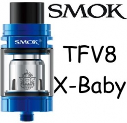 Smoktech TFV8 X-Baby clearomizer Blue