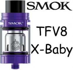 Smoktech TFV8 X-Baby clearomizer Purple