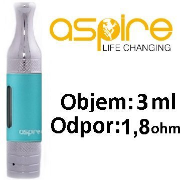 aSpire ET-S Victory BDC clearomizer 3ml 1,8ohm Blue
