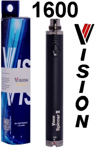 VISION Spinner 2 Twist baterie 1600mAh Black