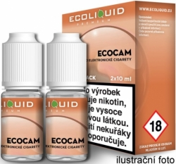 Liquid Ecoliquid Premium 2Pack ECOCAM 2x10ml - 12mg