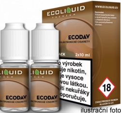 Liquid Ecoliquid Premium 2Pack ECODAV 2x10ml - 12mg
