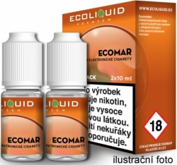 Liquid Ecoliquid Premium 2Pack ECOMAR 2x10ml - 3mg
