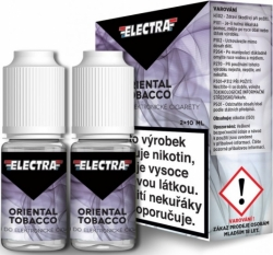 Liquid ELECTRA 2Pack Oriental Tobacco 2x10ml - 6mg