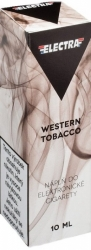 Liquid ELECTRA Western Tobacco 10ml - 0mg