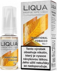 Liquid LIQUA CZ Elements Traditional Tobacco 10ml-18mg (Tradiční tabák)