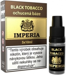 Ochucená báze IMPERIA Black Tobacco 5x10ml - 6mg