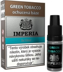 Ochucená báze IMPERIA Green Tobacco 5x10ml - 6mg