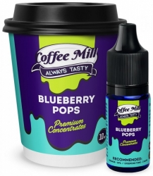 Příchuť Coffee Mill 10ml Blueberry Pops