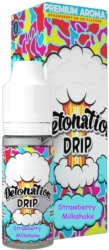Příchuť Detonation Drip 10ml Strawberry Milkshake