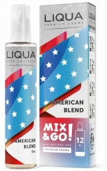 Příchuť Liqua Mix & Go 12ml American Blend