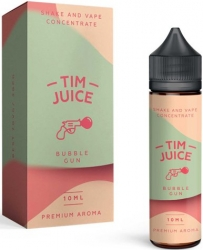 Příchuť Tim Juice Shake and Vape 10ml Bubble Gun