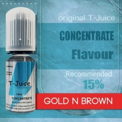 Příchuť T-Juice Gold n Brown 10ml