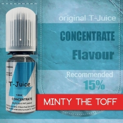 Příchuť T-Juice Minty the Toff 10ml