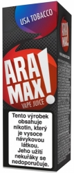 Liquid ARAMAX USA Tobacco 10ml-6mg