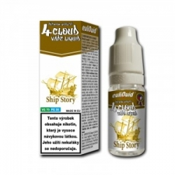 4CLOUD Ship Story 70VG/30PG 10ml/6mg (tabák)