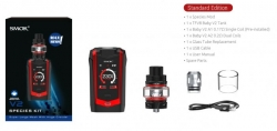 Smoktech Species TC230W Grip Full Kit Black Red