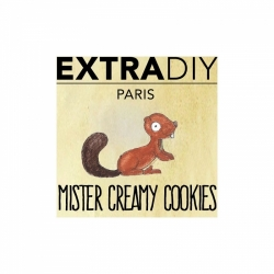 MISTER CREAMY COOKIES BY EXTRADIY 10ml