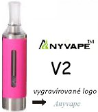 Anyvape EVOD BCC V2 Clearomizer 2,1ohm 1,6ml Pink