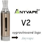 Anyvape EVOD BCC V2 Clearomizer 2,1ohm 1,6ml Silver